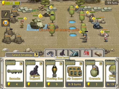 Pocket platoons screenshot 1