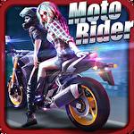 Moto rider 3D: City mission Symbol