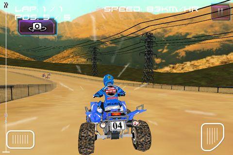 Screenshot ATV Quad Raser auf dem iPhone