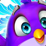 Bubble birds 5: Color birds shooter图标