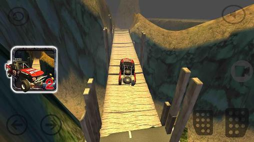 Hill climb racing 4x4: Rivals game für Android