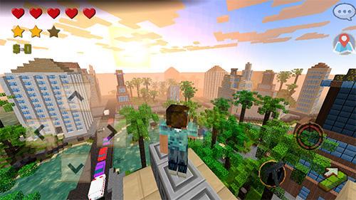 Grand craft auto: Block city captura de tela 1