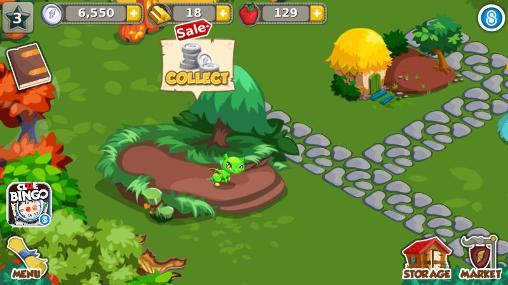 Dragon story: Halloween for Android