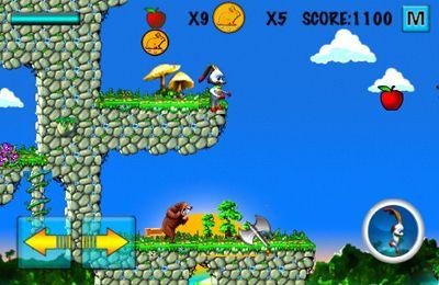 Jogos de arcade: faça o download de Coelno na ilha para o seu telefone