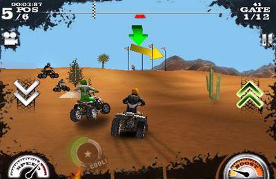 Carreras sucias de  motos para iPhone