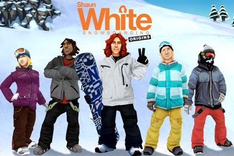 logo Shaun White Snowboarding: Ursprung