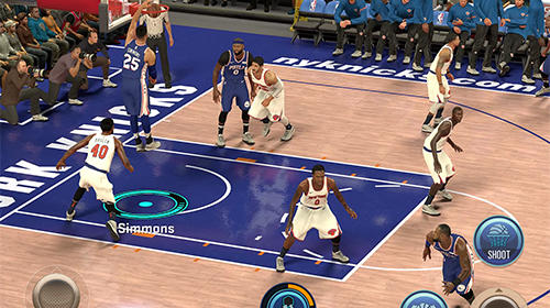 NBA 2K Mobile basketball captura de tela 3