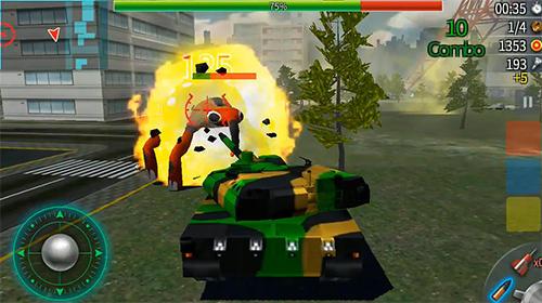 Generation tank Screenshot