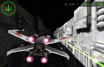 La guerra de las galaxias: Carrera en las trincheras para iPhone gratis