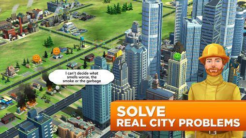 Simulation: Lade Sim City: Bau Es auf dein Handy herunter