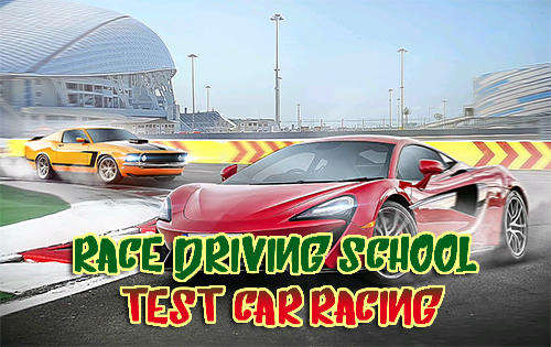 Race driving school: Test car racing Screenshot