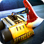 Robot crash fight Symbol