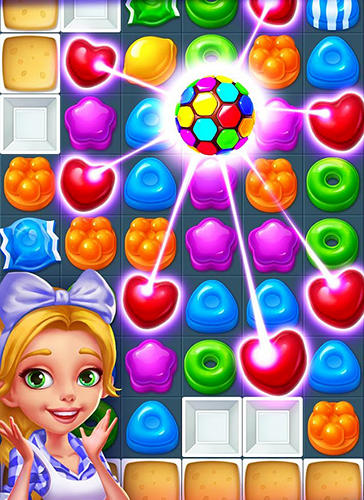 Match 3 Candy smash mania in English