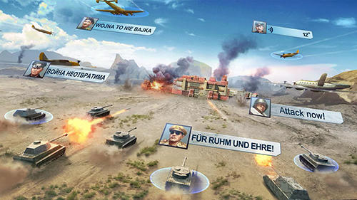 Online World warfare für das Smartphone
