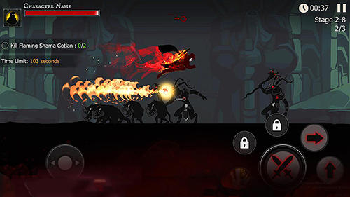 Juegos de caballeros Shadow of death. Dark knight: Stickman fighting en español