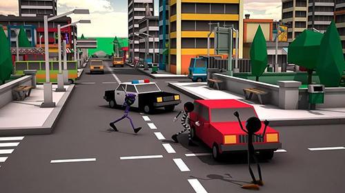 Actionspiele Stickman assassin für das Smartphone
