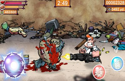 Arcade games: download Fangz to your phone