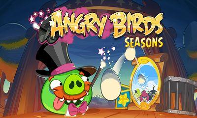 Angry Birds Seasons - Abra-Ca-Bacon! скриншот 1