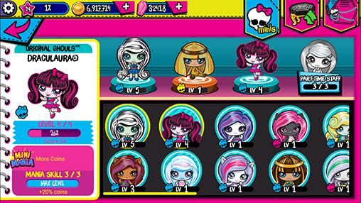 Monster high: Minis mania para Android