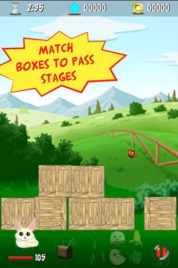 Arcade-Spiele Boxes appventure für das Smartphone