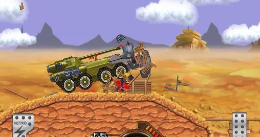Shooters Monster car: Hill racer auf Deutsch