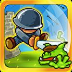 Frontier warriors. Castle defense: Grow army Symbol