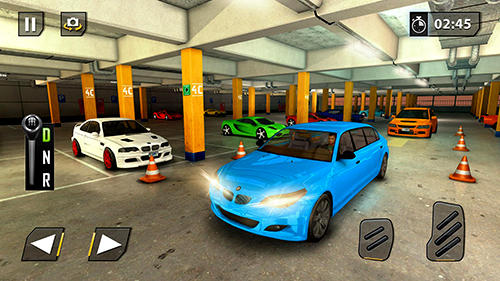 Limousine car driving real parking para Android