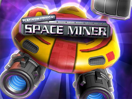 logo Minero espacial: Edición de platino