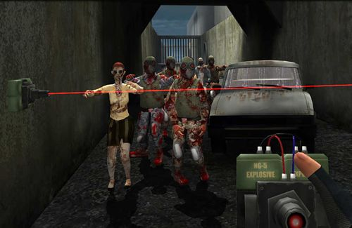 Walking dead zombies: The town of advanced assault warfare for iPhone