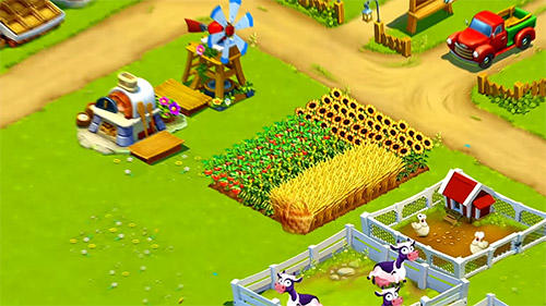 Arcade Golden farm: Happy farming day für das Smartphone