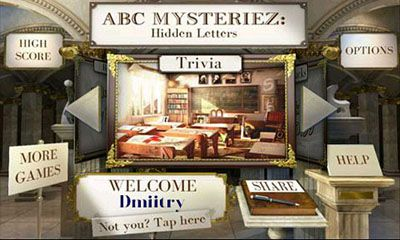 ABC Mysteriez Hidden Letters captura de pantalla 1