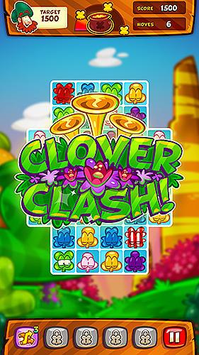 3 Gewinnt-Spiele Clover charms auf Deutsch