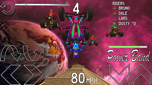 Racing games Pro ATV for smartphone