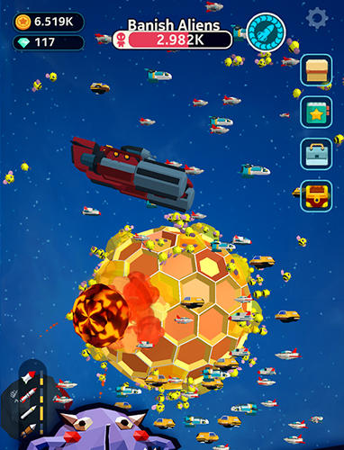 Planet overlord for iPhone
