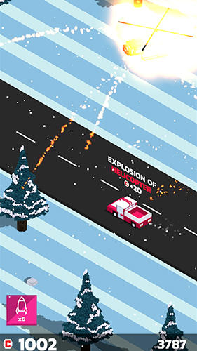 Boom road: 3d drive and shoot für Android