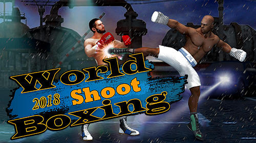 World shoot boxing 2018: Real punch boxer fighting Symbol