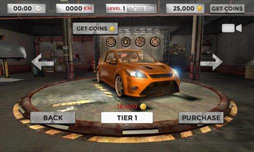 Rennspiele Real driving 3D für das Smartphone