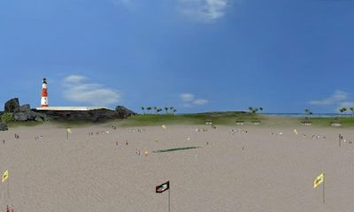 Beach Cricket screenshot 3