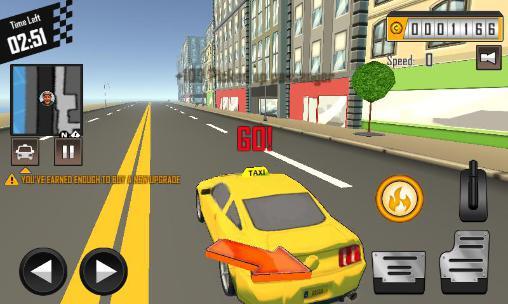 Crazy driver: Taxi duty 3D part 2 captura de tela 1