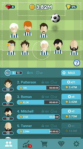Football manager tycoon for Android