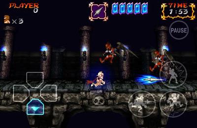 Fantasmas y Goblins contra Caballeros para iPhone