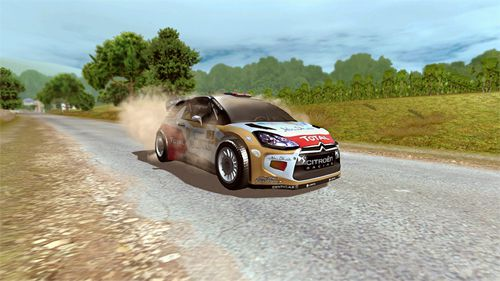 Carreras internacionales de rally: Juego oficial para dispositivos iOS