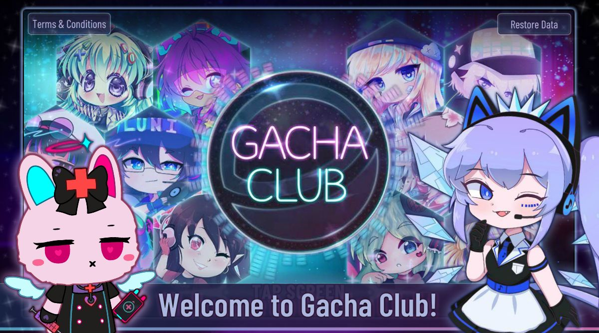 Gacha Club captura de pantalla 1