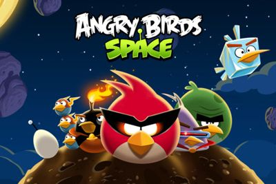 Angry Birds Space скриншот 1