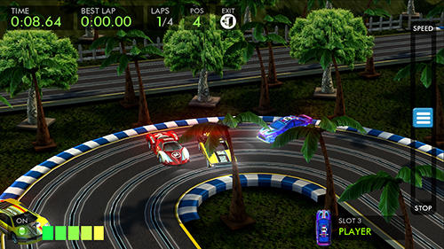 HTR+ High tech racing: Real slot car simulation in English
