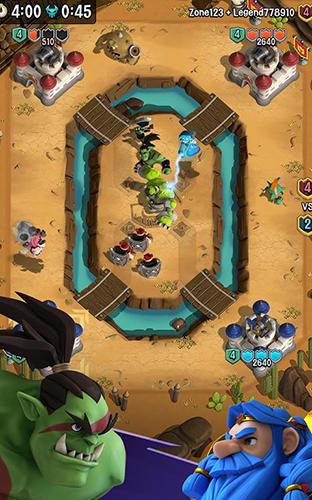 Online Strategiespiele Super tactics: Real time battle auf Deutsch