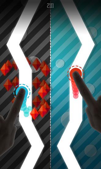Arcade Follow the lines: Asynchronous XXX für das Smartphone