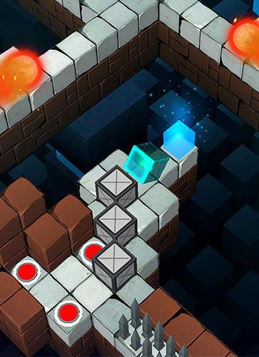 Logikspiele Cubanoid: Hardcore puzzle maze für das Smartphone