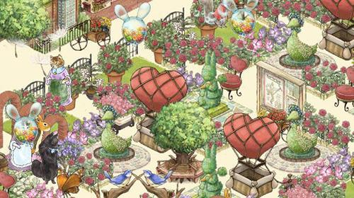 Peter rabbit's garden auf Deutsch