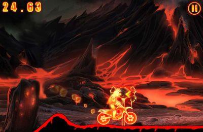 Screenshot Höllenreiter auf dem iPhone
